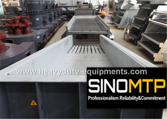 China 780R / Min REV Heavy Duty Linear Vibratory Feeder With 4900×1100 mm Trough factory