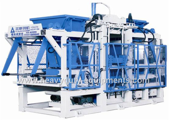 Pavement Block Making Machine 60HZ Vibration Frequency Logic Control
