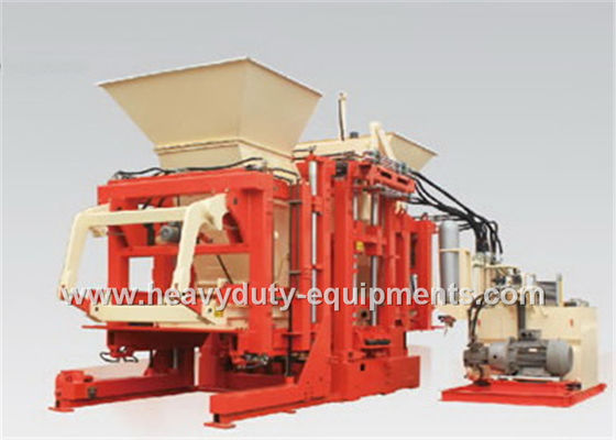 Industrial Automated Concrete Brick Making Machine 12-20 S Per Mould 1300×1050 mm Forming Area