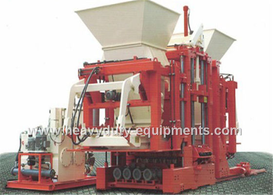 39.85 kW Automatic Concrete Block Making Machine 15-25 s cycle time VTOZ Hydraulic Valve