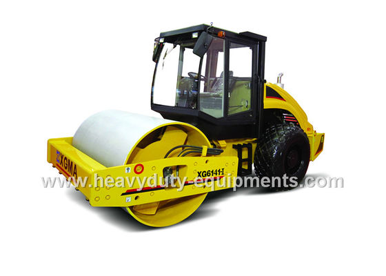XG6141 Double Drive Hydraulic Vibratory Road Roller Turbocharged Diesel Engine