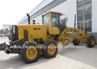 DEUTZ Engine Road Construction Equipment  Yellow Motor Grader Meichi Axle Drive