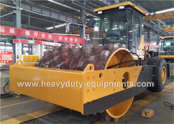 20Tons Steel Single Drum Road Roller Road Construction Equipment With Padfoot Movable