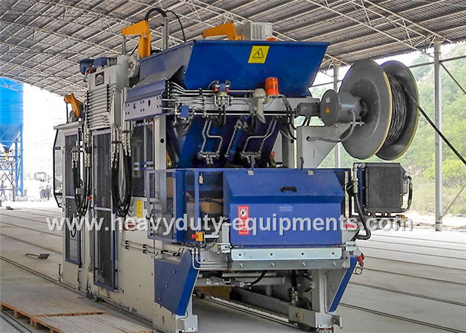 120KN Exciting Force Sand Brick Making Machine, Full Automatic Block Maker Machine