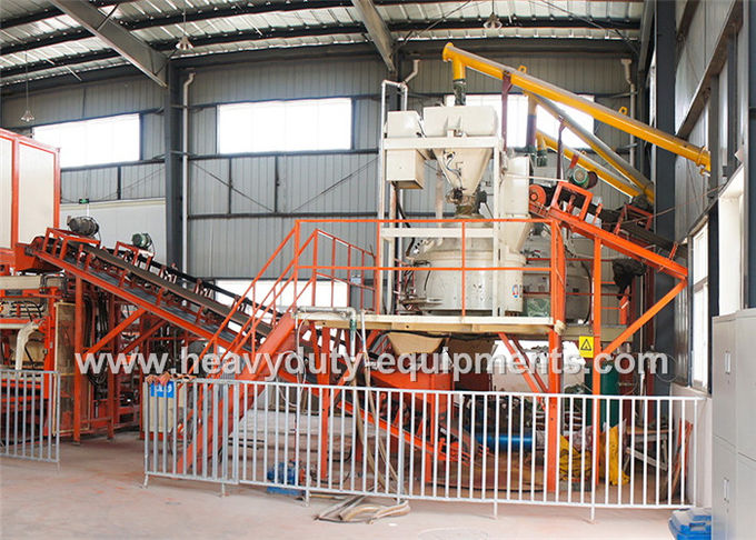 1100×820 mm Auto Ccement Block Making Machine 900L Hopper For Aggregate