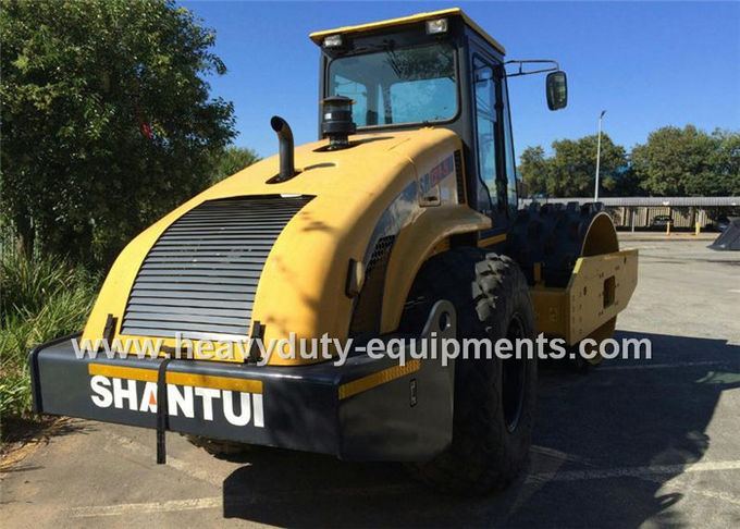 Shantui 12tons single drum road roller SR12-5 with hydraulic motion , weichai engine