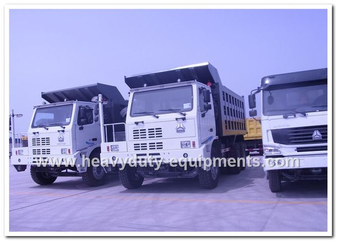 HOWO 70tons Off road Mining Dump Truck Tipper 6*4 driving model 371hp with HYVA Hdraulic pump