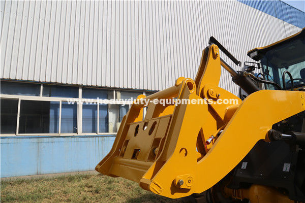 938 Wheeled Frond End Loader With 40km/H Max.Speed Of Yj315 Transmission Grab Fork As Optional